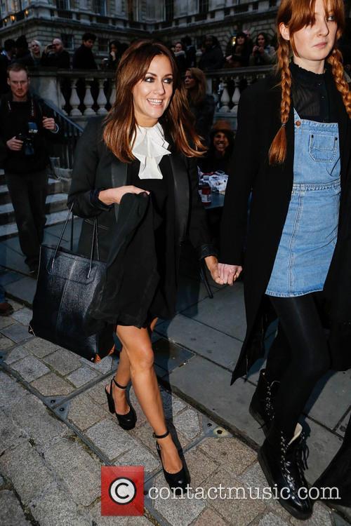 Caroline Flack, London Fashion Week, Somerset House