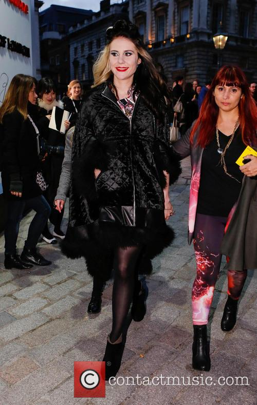 Kate Nash, London Fashion Week, Somerset House