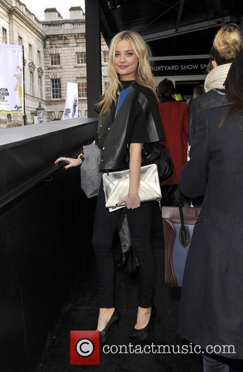 Laura Whitmore, London Fashion Week