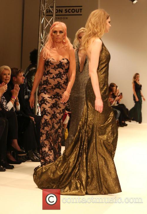 Natascha Ochsenknecht, London Fashion Week