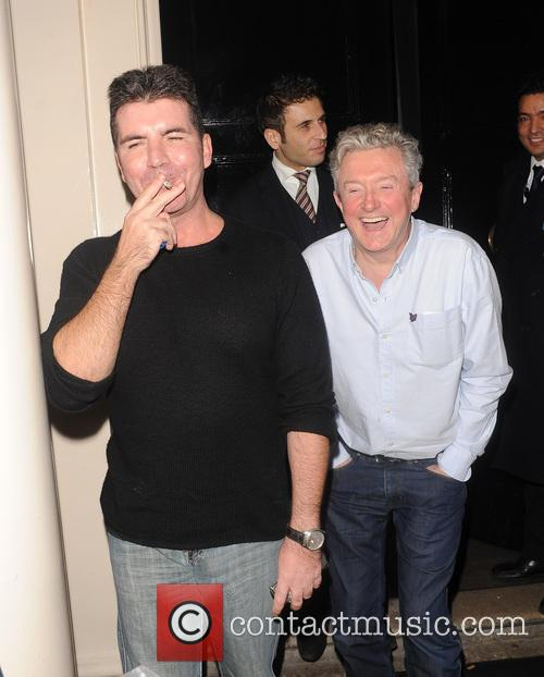 Simon Cowell and Louis Walsh 2