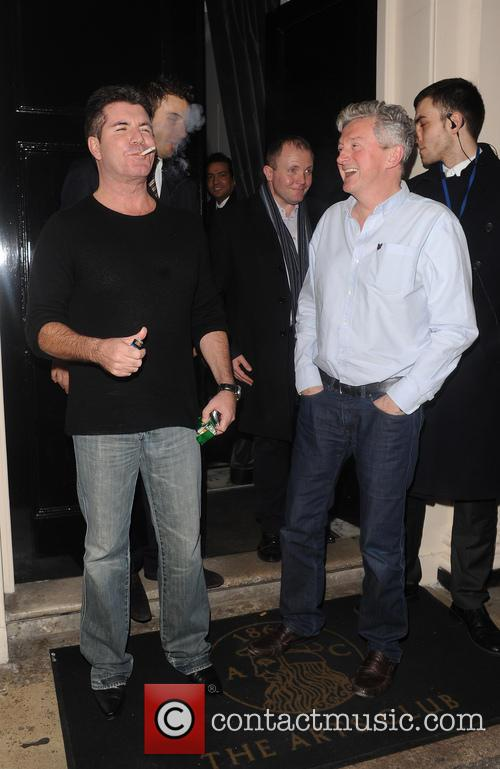 Simon Cowell and Louis Walsh 4