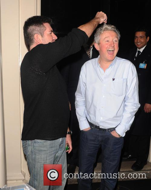 Simon Cowell and Louis Walsh 1