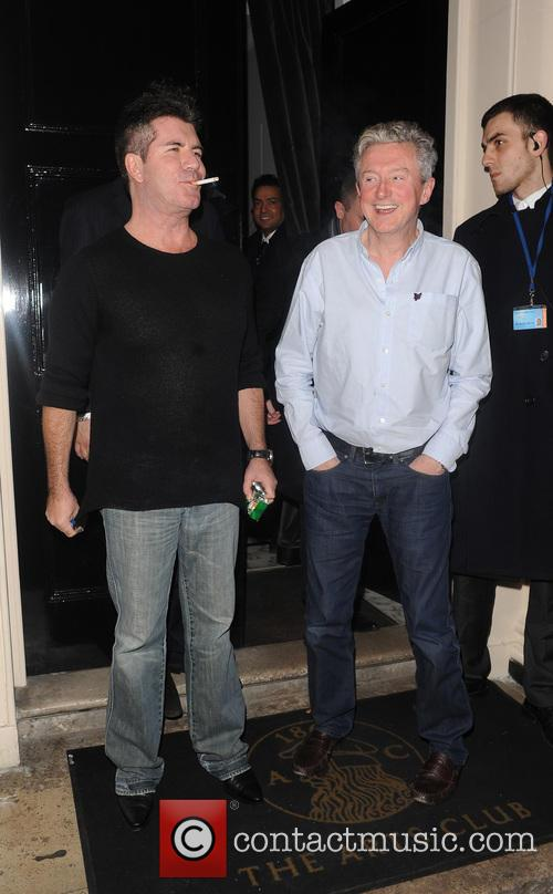 Simon Cowell and Louis Walsh 7