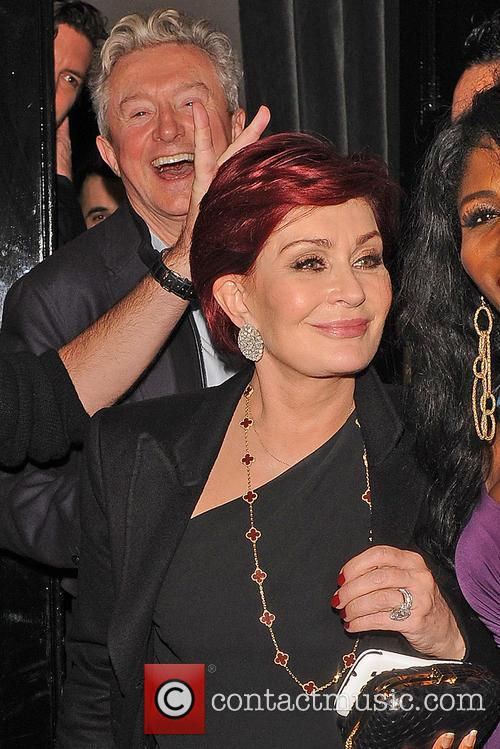 Simon Cowell seen outside The Arts Club with Sharon Osbourne