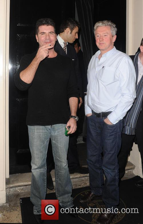 Simon Cowell and Louis Walsh 6