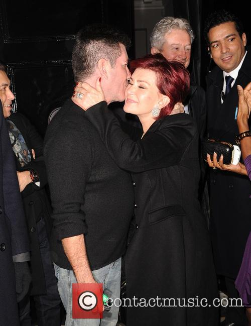 Simon Cowell and Sharon Osbourne 2