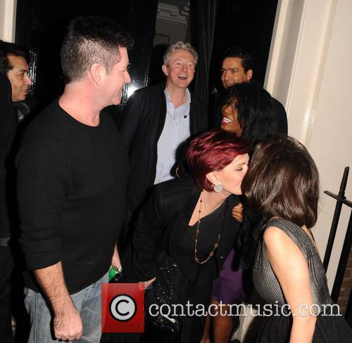 Simon Cowell and Sharon Osbourne 3