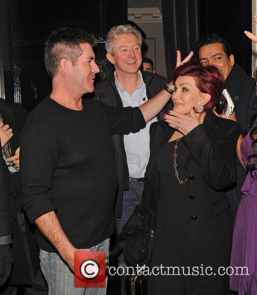 Simon Cowell and Sharon Osbourne 7