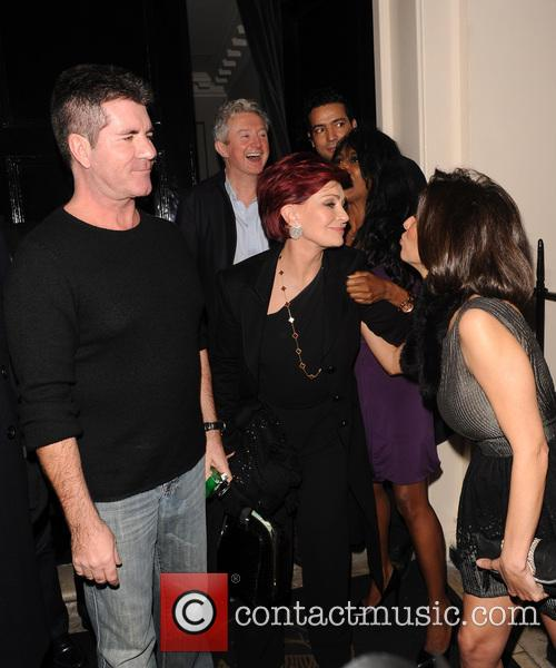 Simon Cowell and Sharon Osbourne 9