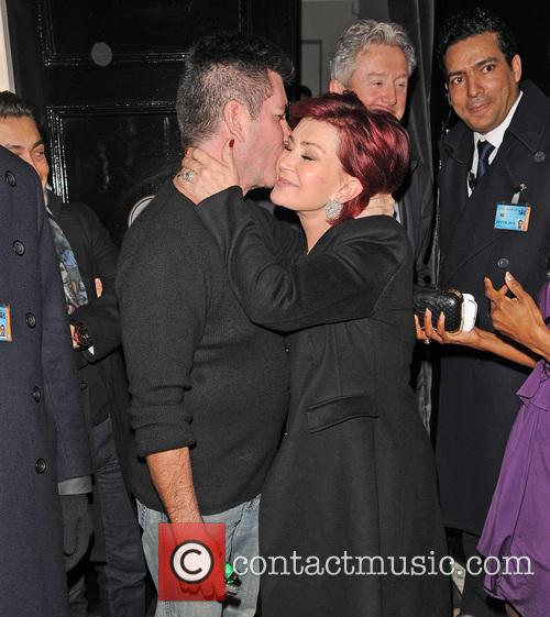 Simon Cowell and Sharon Osbourne 10