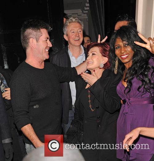 Simon Cowell and Sharon Osbourne 10