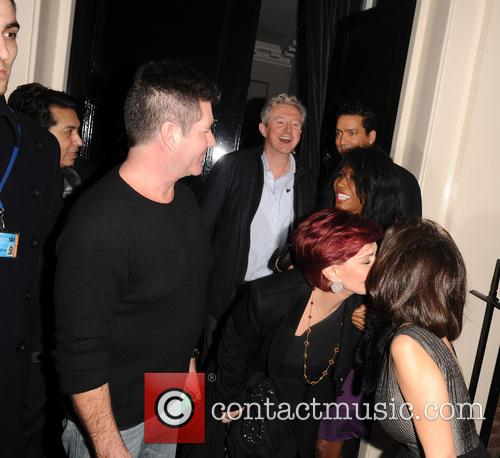Simon Cowell and Sharon Osbourne 11