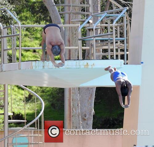 Greg Louganis and Splash 3