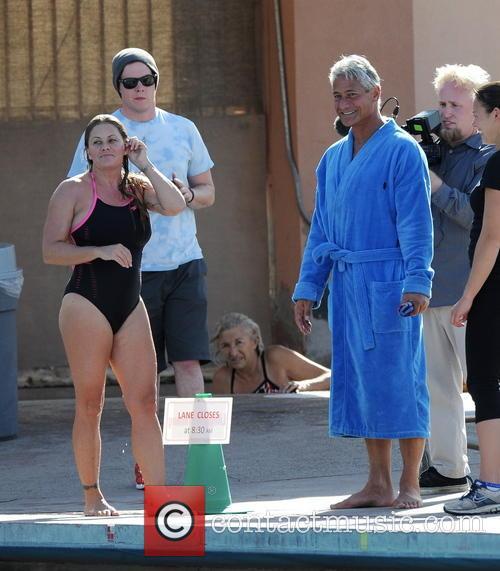Greg Louganis and Splash 7