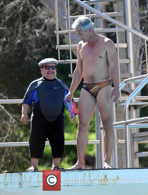 Greg Louganis and Splash 8
