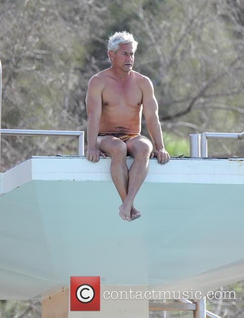 Greg Louganis and Splash 10