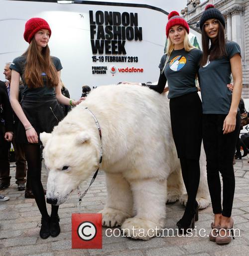 Greenpeace Arctic Polar Bear and Models 2