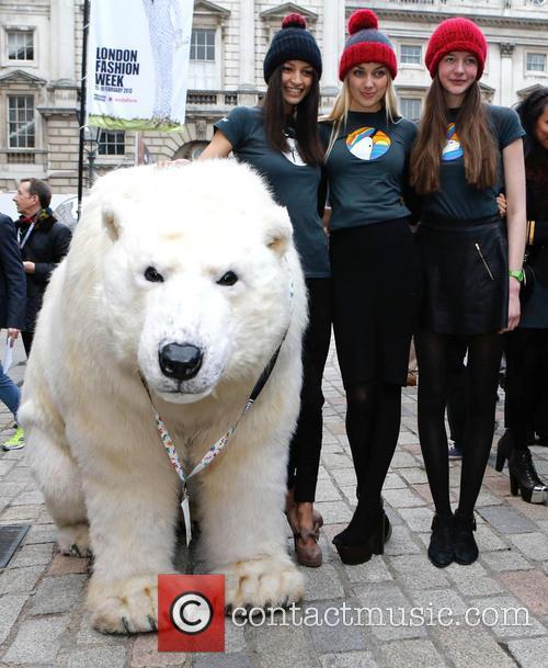 Greenpeace Arctic Polar Bear and Models 3