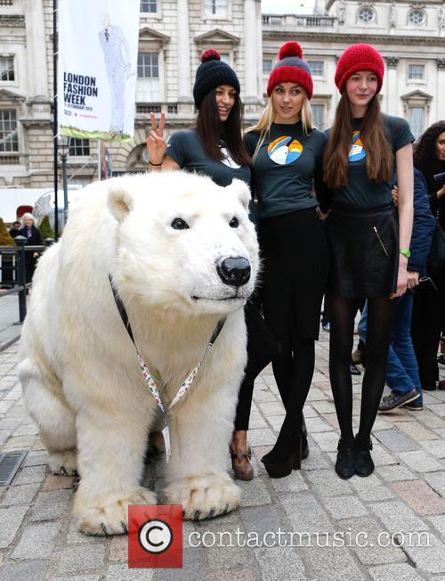 Greenpeace Arctic Polar Bear and Models 4