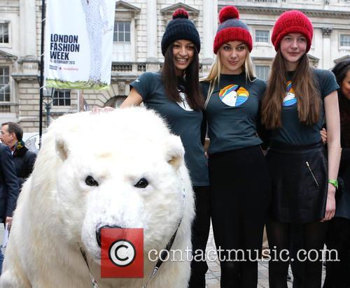 Greenpeace Arctic Polar Bear and Models 6