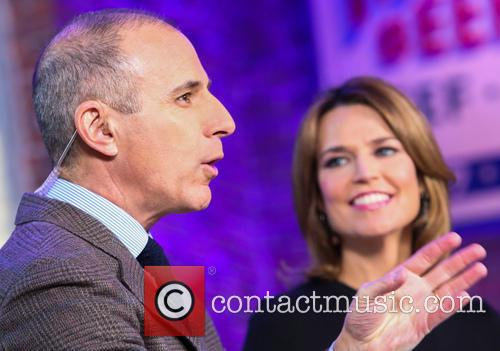 Matt Lauer and Savannah Guthrie 2