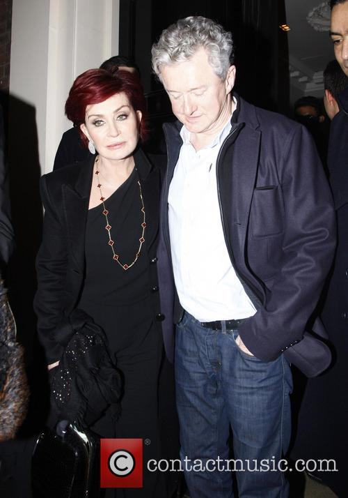 Sharon Osbourne and Louis Walsh 4