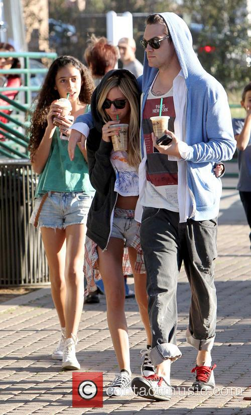 Ashley Tisdale With Boyfriend