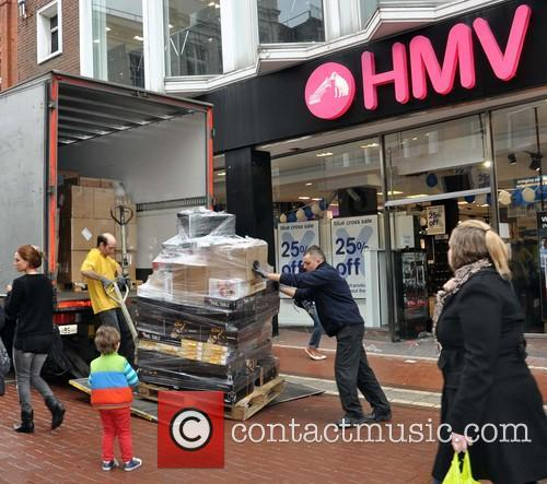 HMV Dublin closes