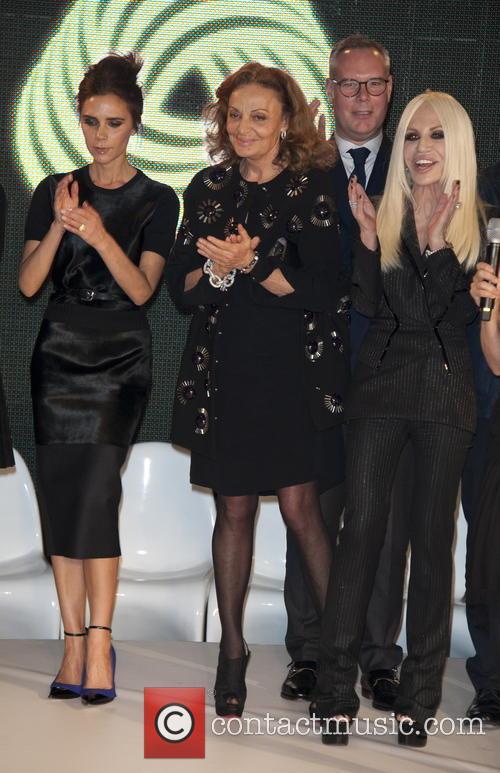 Victoria Beckham, Diane von Furstenberg and Donatella Versace 6