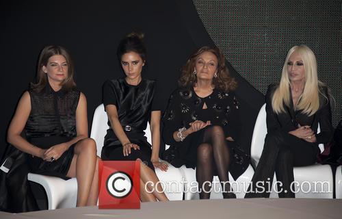 Victoria Beckham, Diane von Furstenberg, Donatella Versace
