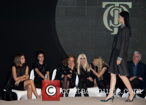 Victoria Beckham, Diane Von Furstenberg and Donatella Versace 1