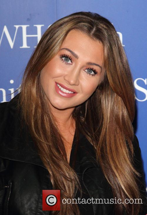'TOWIE' star Lauren Goodger signs copies of her...