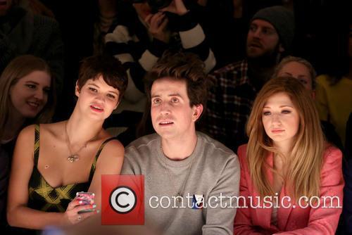 Pixie Geldof, Nick Grimshaw and Nicola Roberts 2