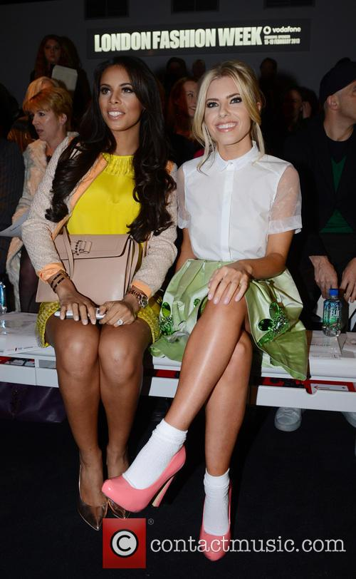 Mollie King and Rochelle Wiseman 2