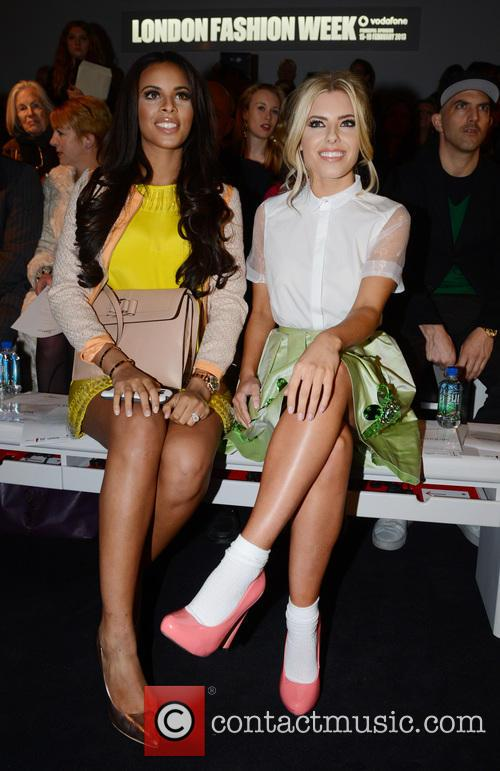 Mollie King and Rochelle Wiseman 1