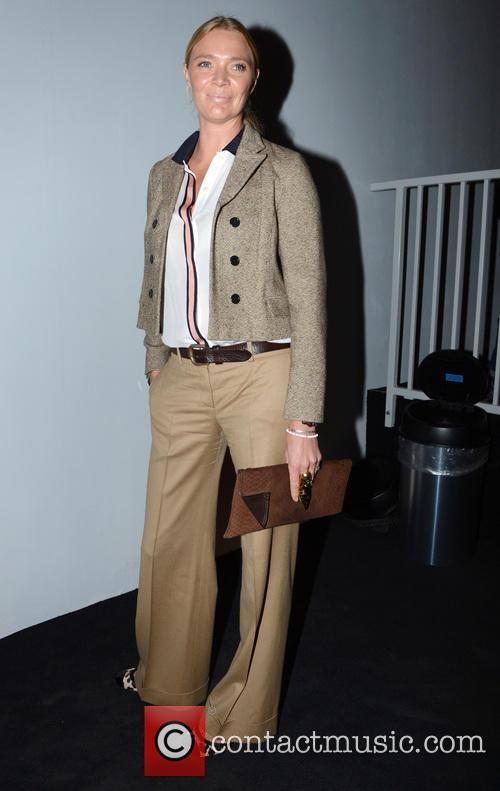 Jodie Kidd, London Fashion Week