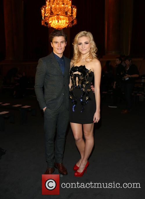 Oliver Cheshire and Pixie Lott 2