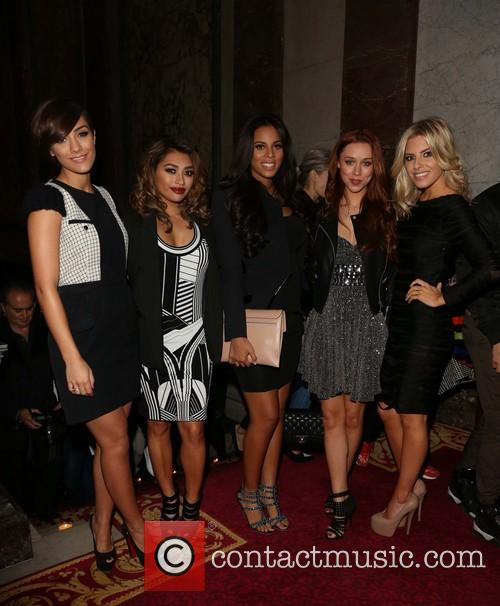 Frankie Sandford, Vanessa White, Rochelle Wiseman, Una Healy and Mollie King Of The Saturdays 2