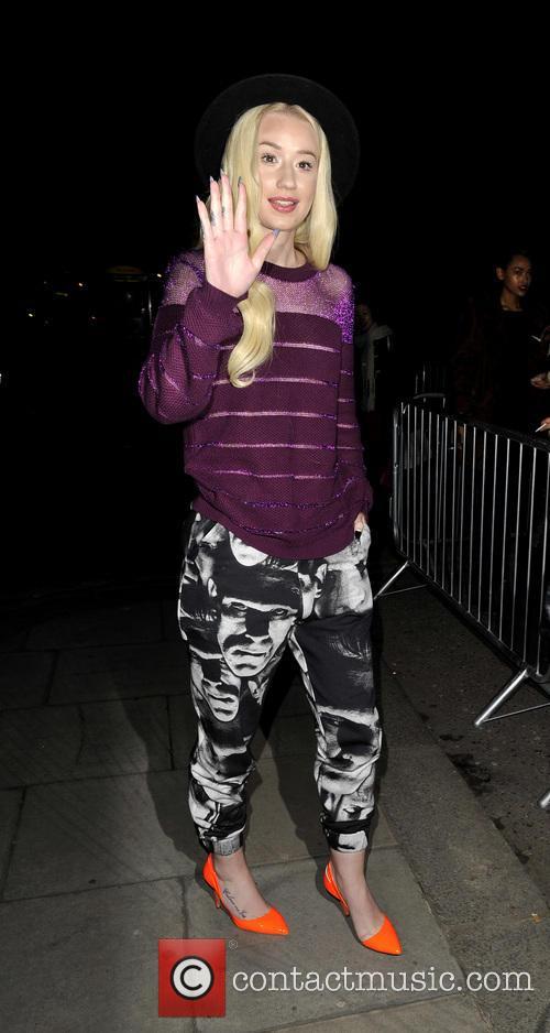 Rihanna, Iggy Azalea, London Fashion Week