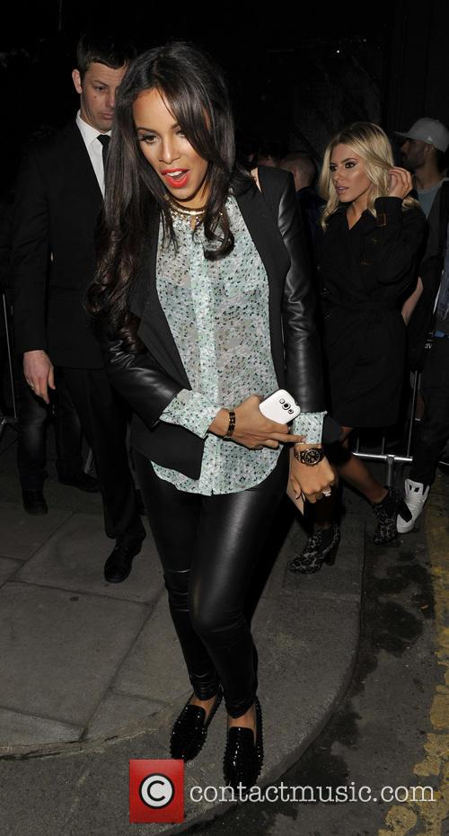LFW Rihanna For River Island Celebs