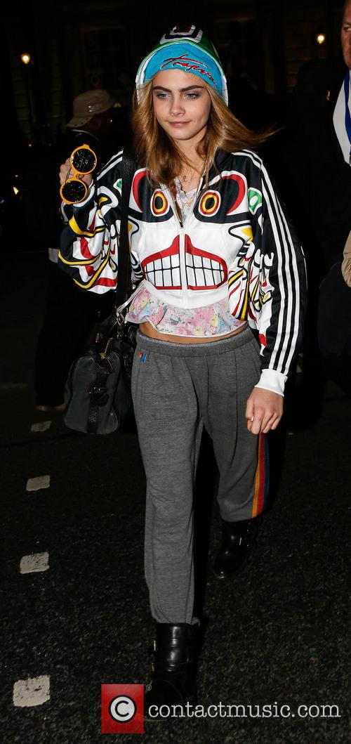 Picture Cara Delevingne At London Fashion Week Somerset