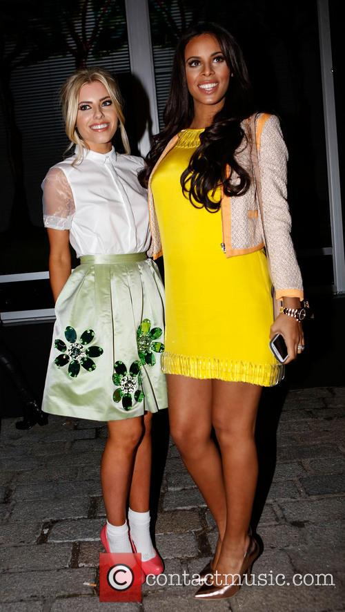 Mollie King and Rochelle Humes 5