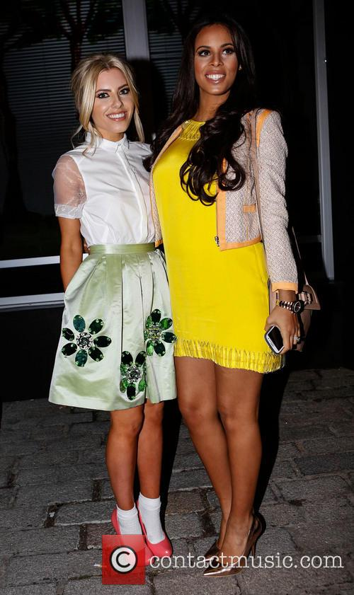 Mollie King and Rochelle Humes 6