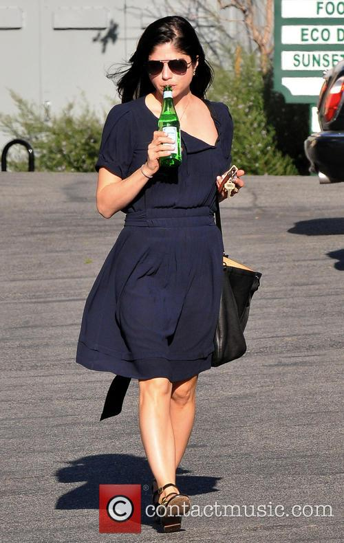 Selma Blair Thirsty