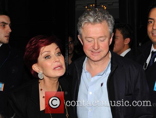 Sharon Osbourne and Louis Walsh 5