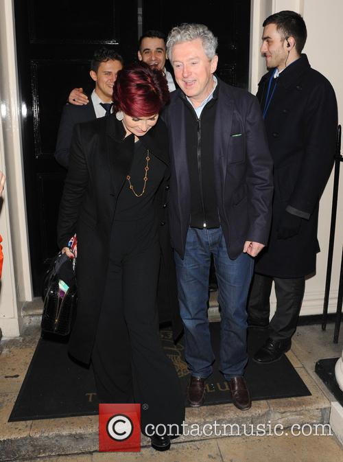 Sharon Osbourne and Louis Walsh 7