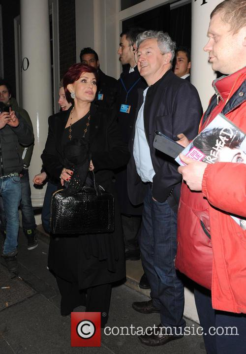 Sharon Osbourne and Louis Walsh 8