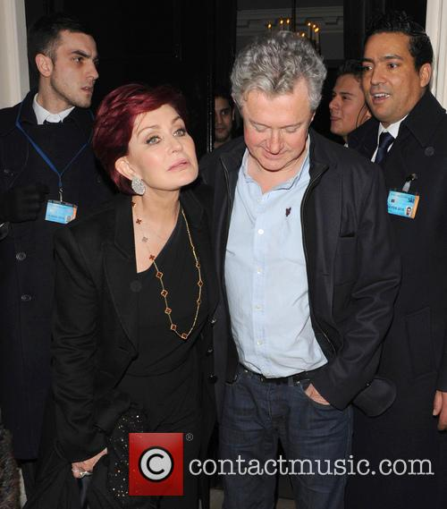 Sharon Osbourne and Louis Walsh 9