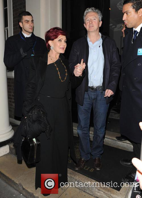 Sharon Osbourne, Louis Walsh